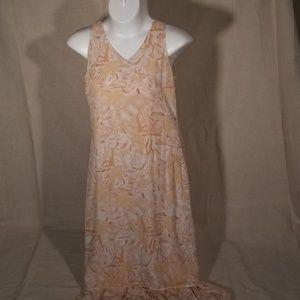 Full length sleeveless Dress
